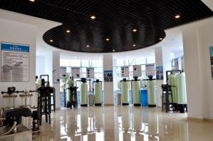软化设备展厅