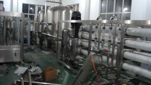 工业制水系统安装现场